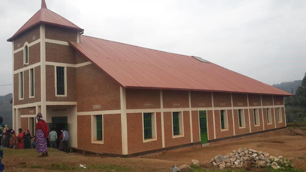 Buganamana Church completed