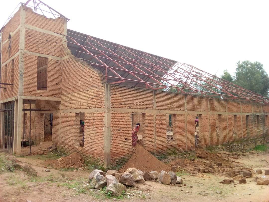 Buganamana Church under construction