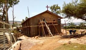 Burema Church under construction