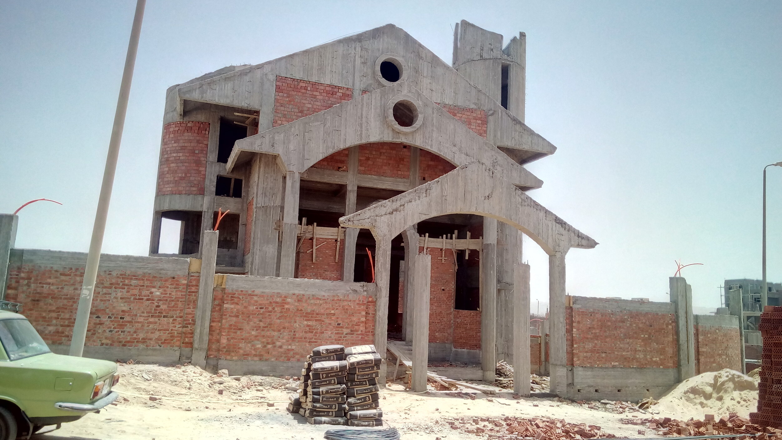 New Asuit Church in early stages of construction
