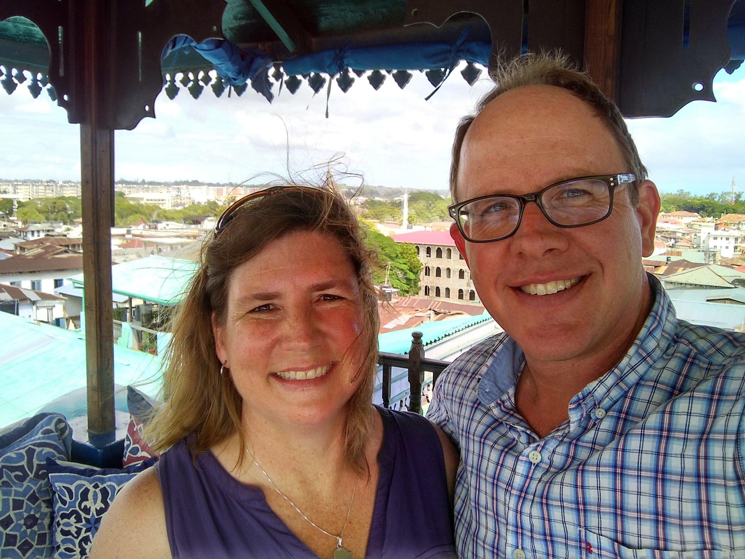 Dustin and Sherri Ellington