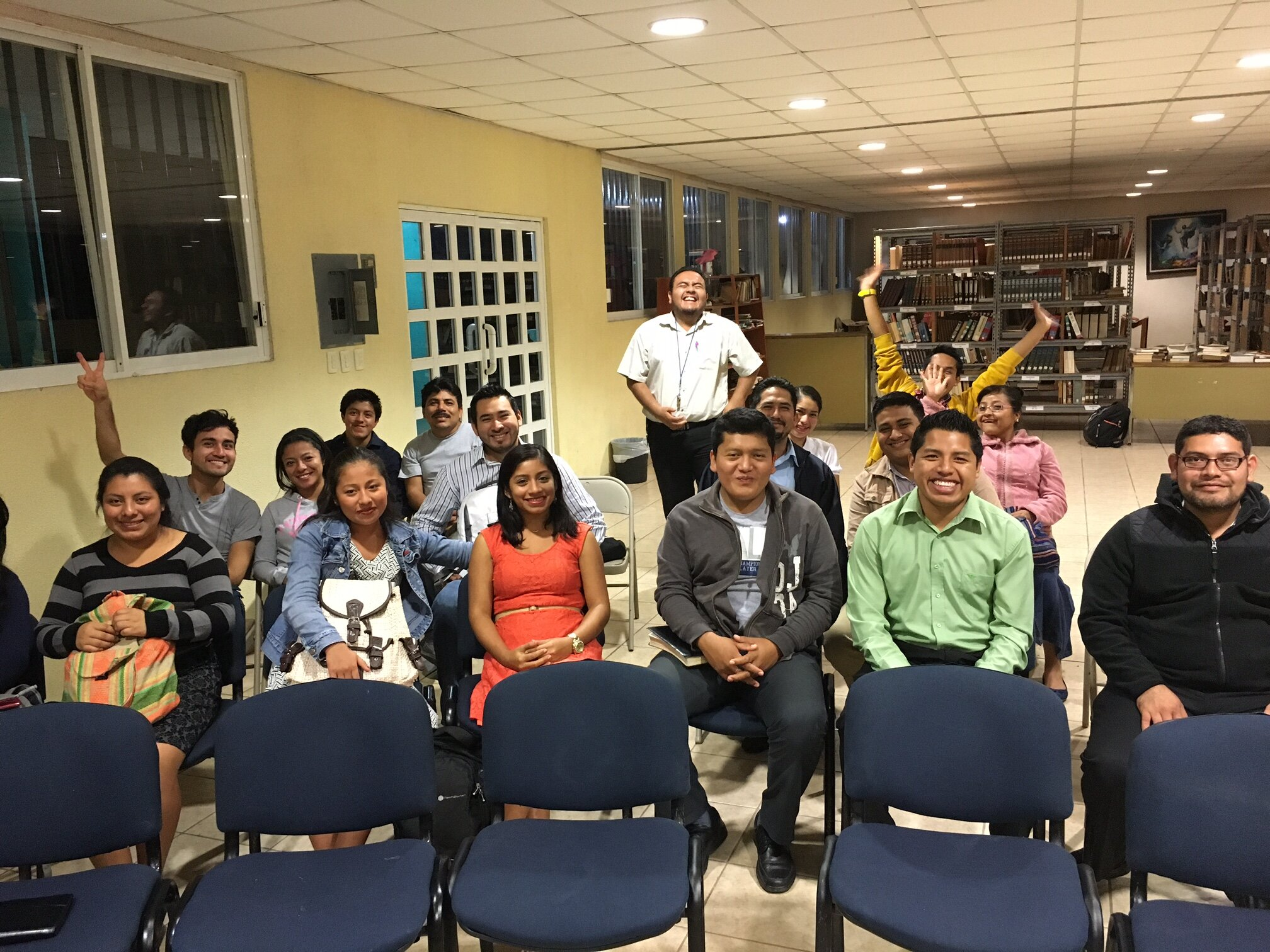 Students at The Presbyterian Theological Seminary of Southeast Mexico