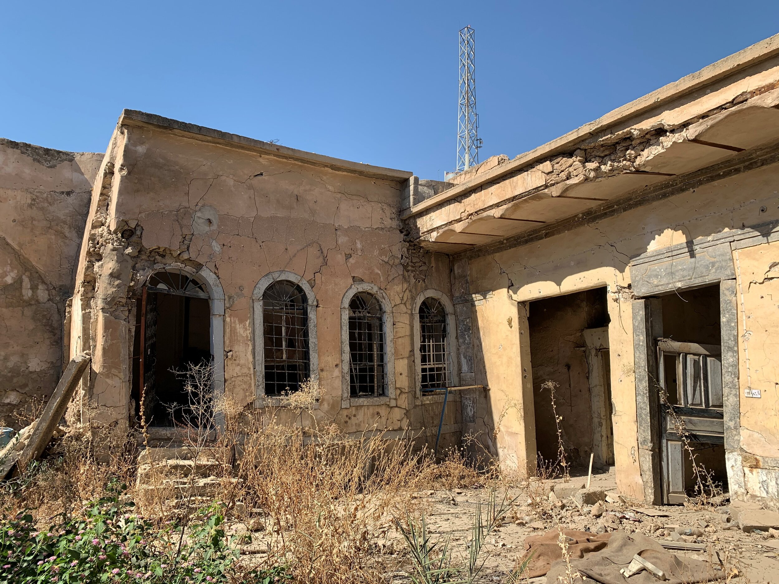 """Mosul Church: """"struck down, but not destroyed..."""""""