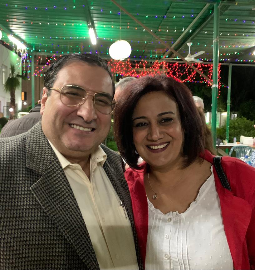 Rev. John Sammy Habib his wife