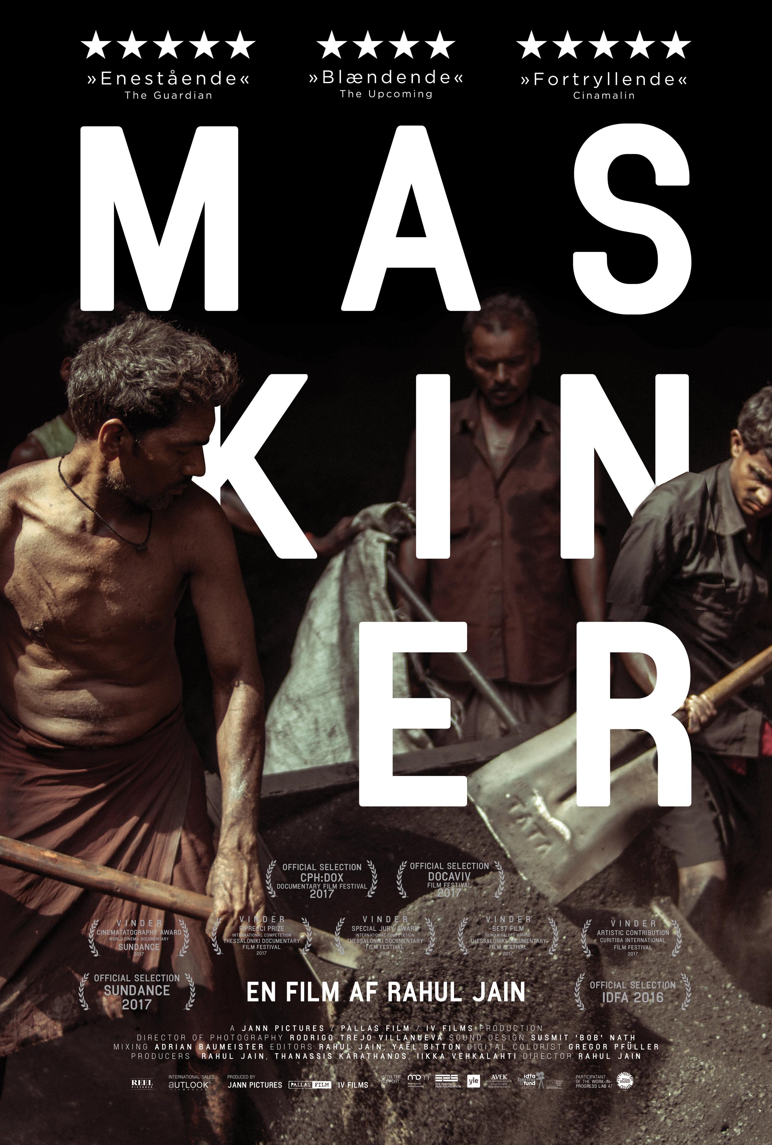 Movie poster for Maskiner