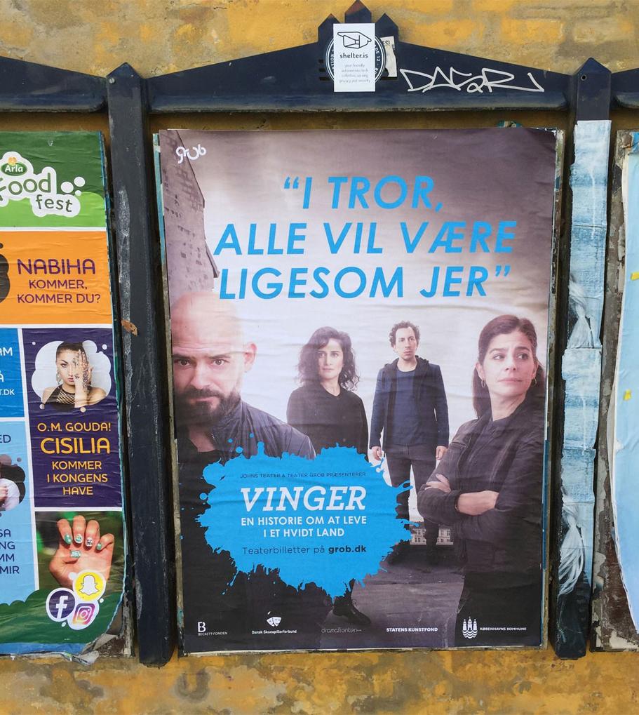 Plakater til Vinger 2016