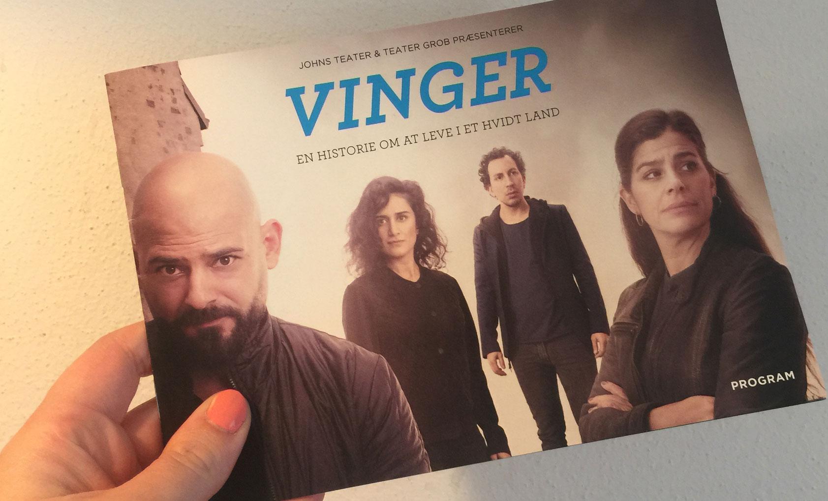 Program til Vinger. 2016
