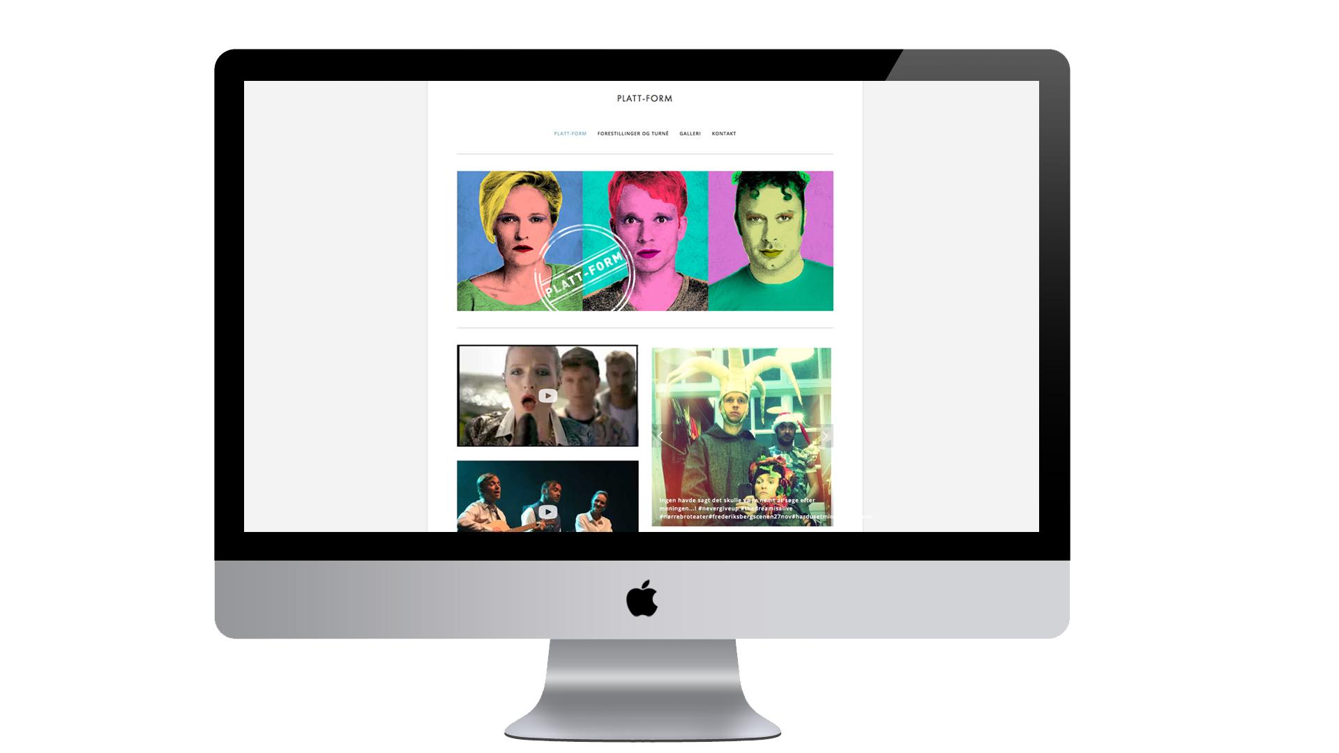 Web design til Platt-Form
