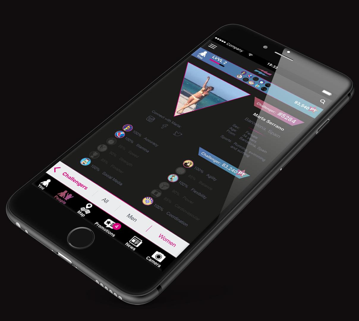 LEVVEL iPhone_Plus_app_challenges_challengers Marta.jpg