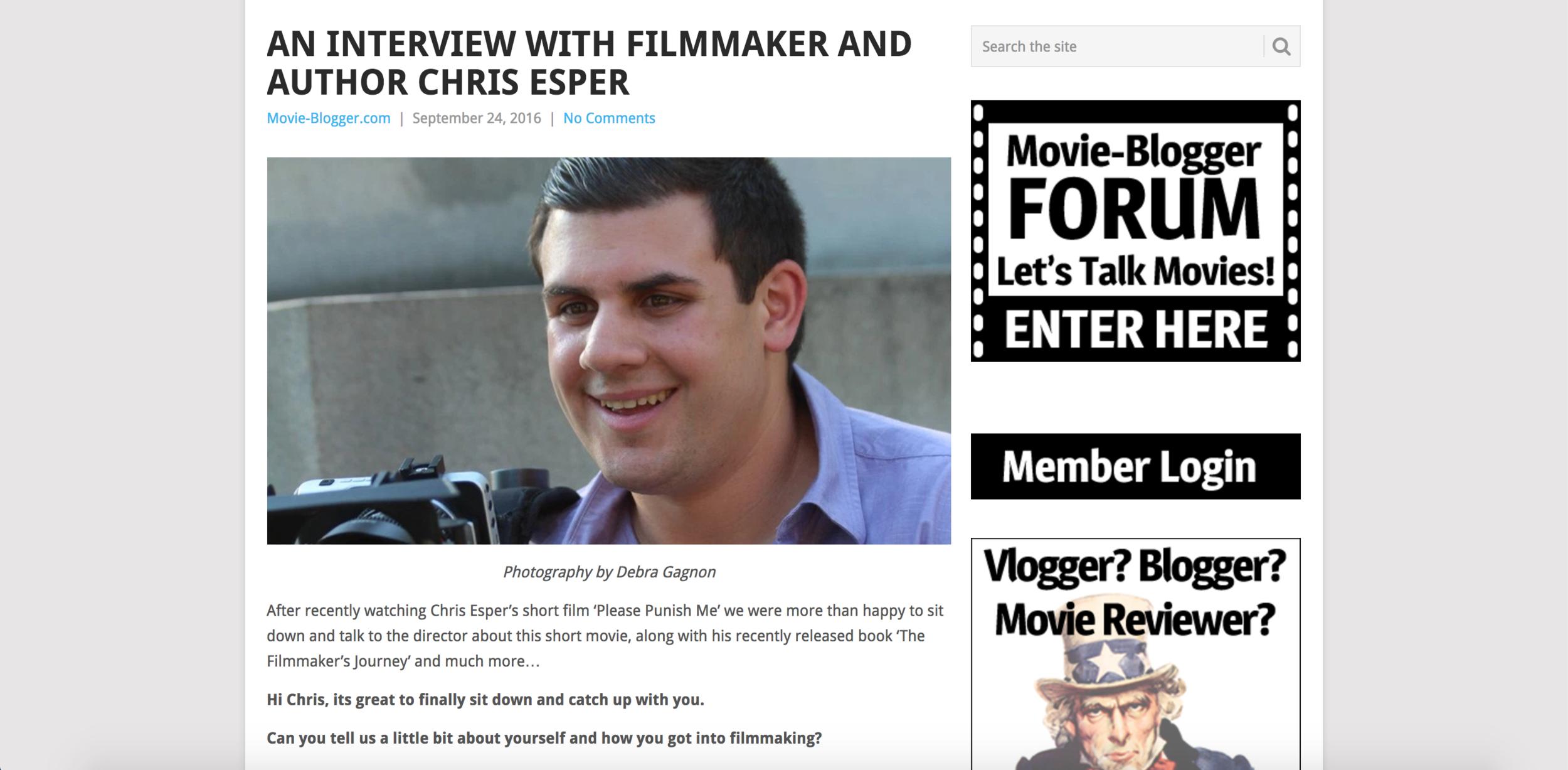 Movie-Blogger.com Interview  (2016)
