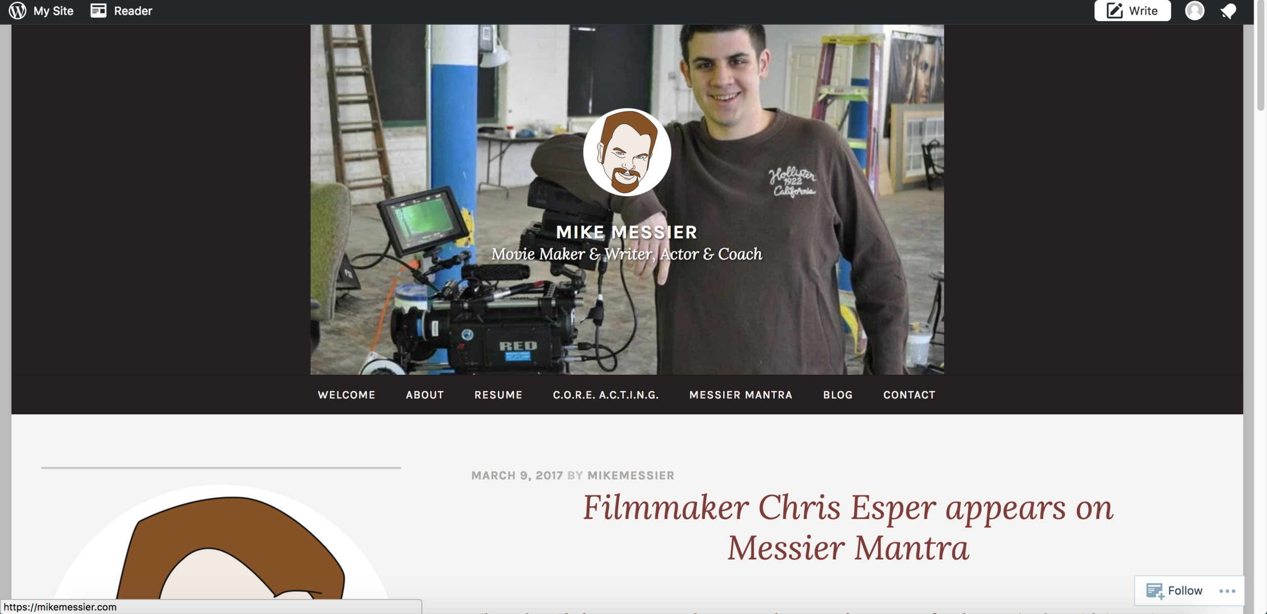 Messier Mantra Interview  (2016)