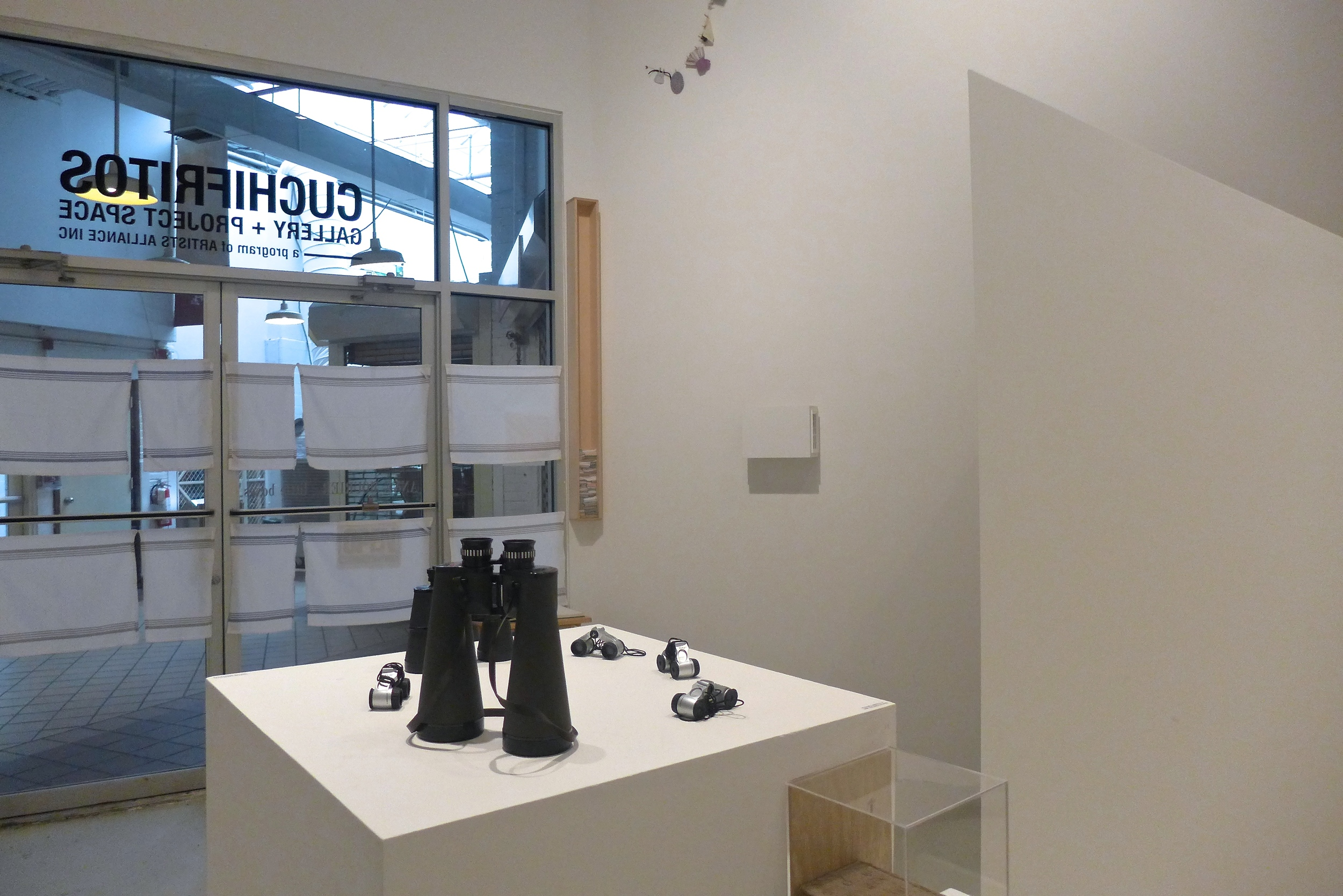 Little Boxes  exhibition view.