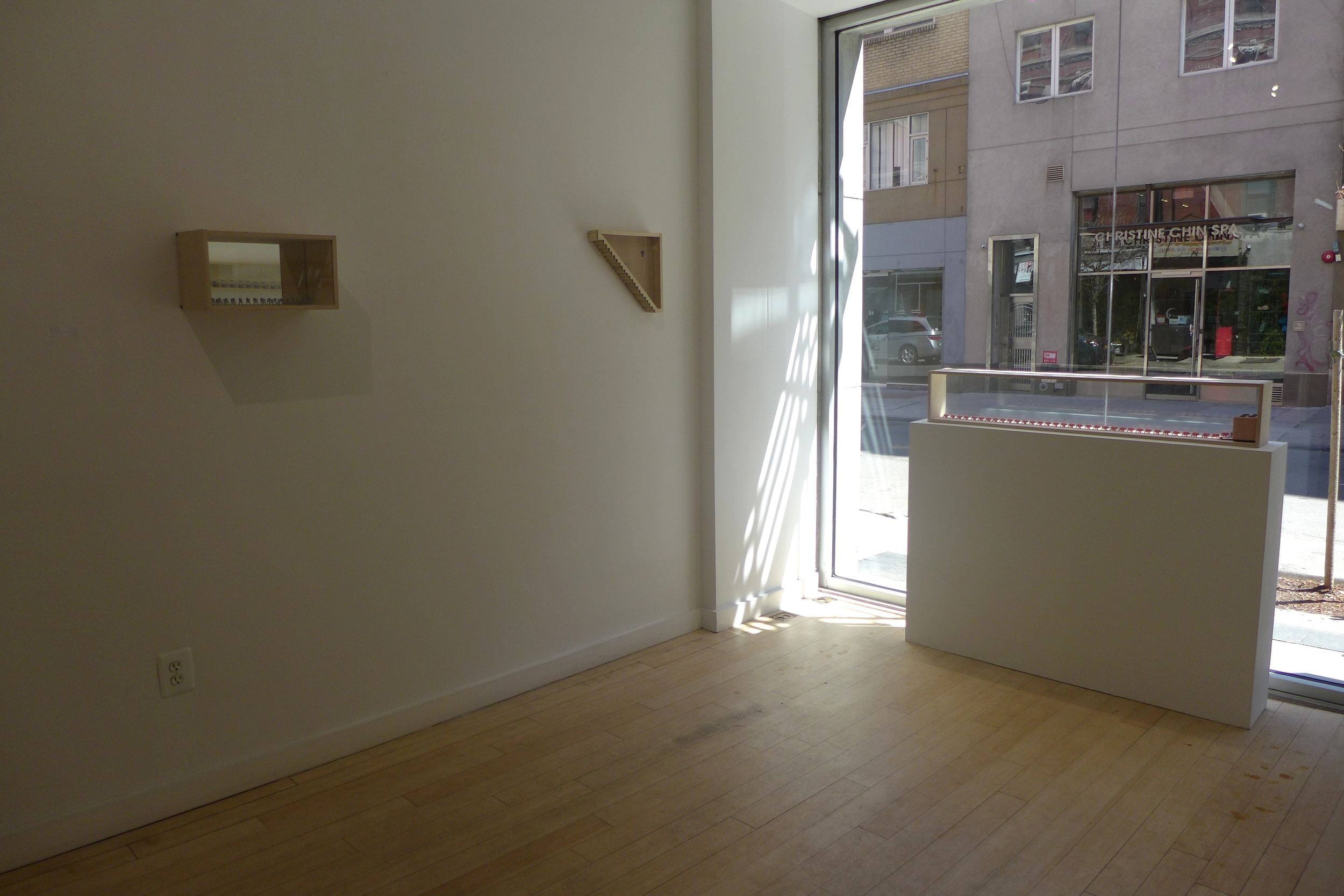 No Woman, No Cry exhibition view.