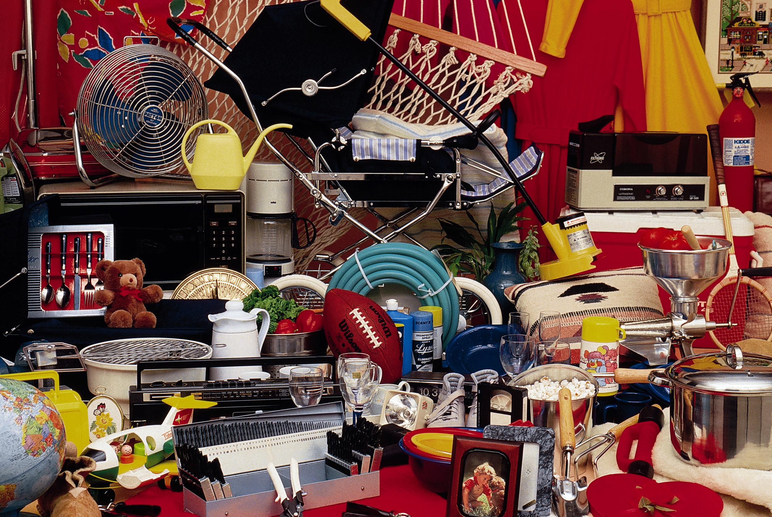 Where is YOUR junk drawer (closet, garage, attic, basement . . . )