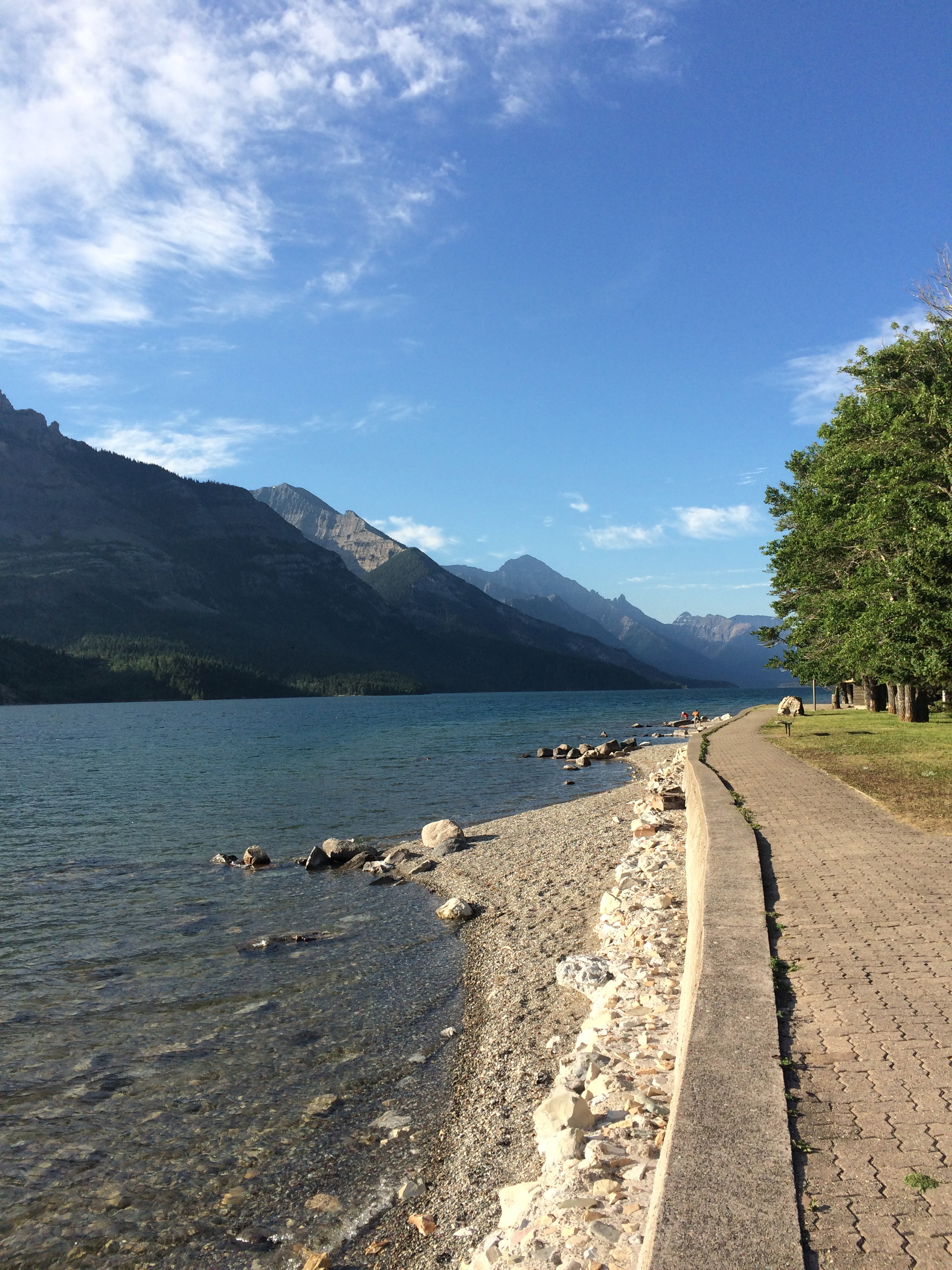 Photo #3:  Waterton Lakes, Glacier National Park, Alberta, Canada