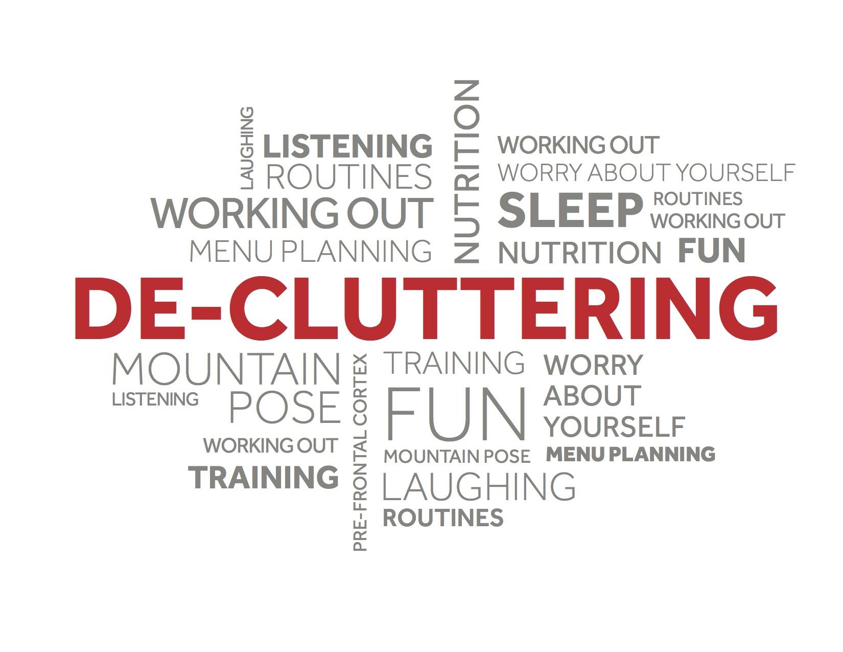 Tis the Season to De-Clutter!