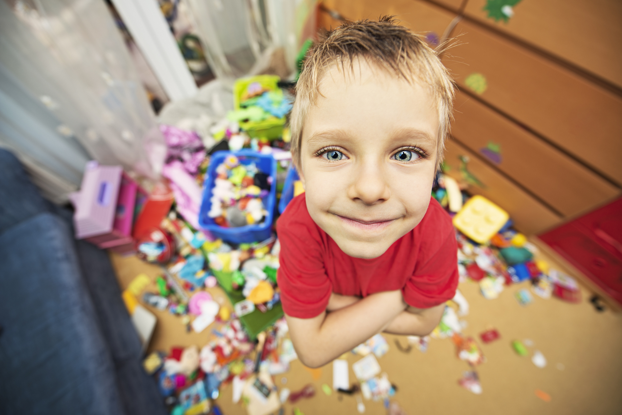 Kids clean their rooms, true story or urban myth?