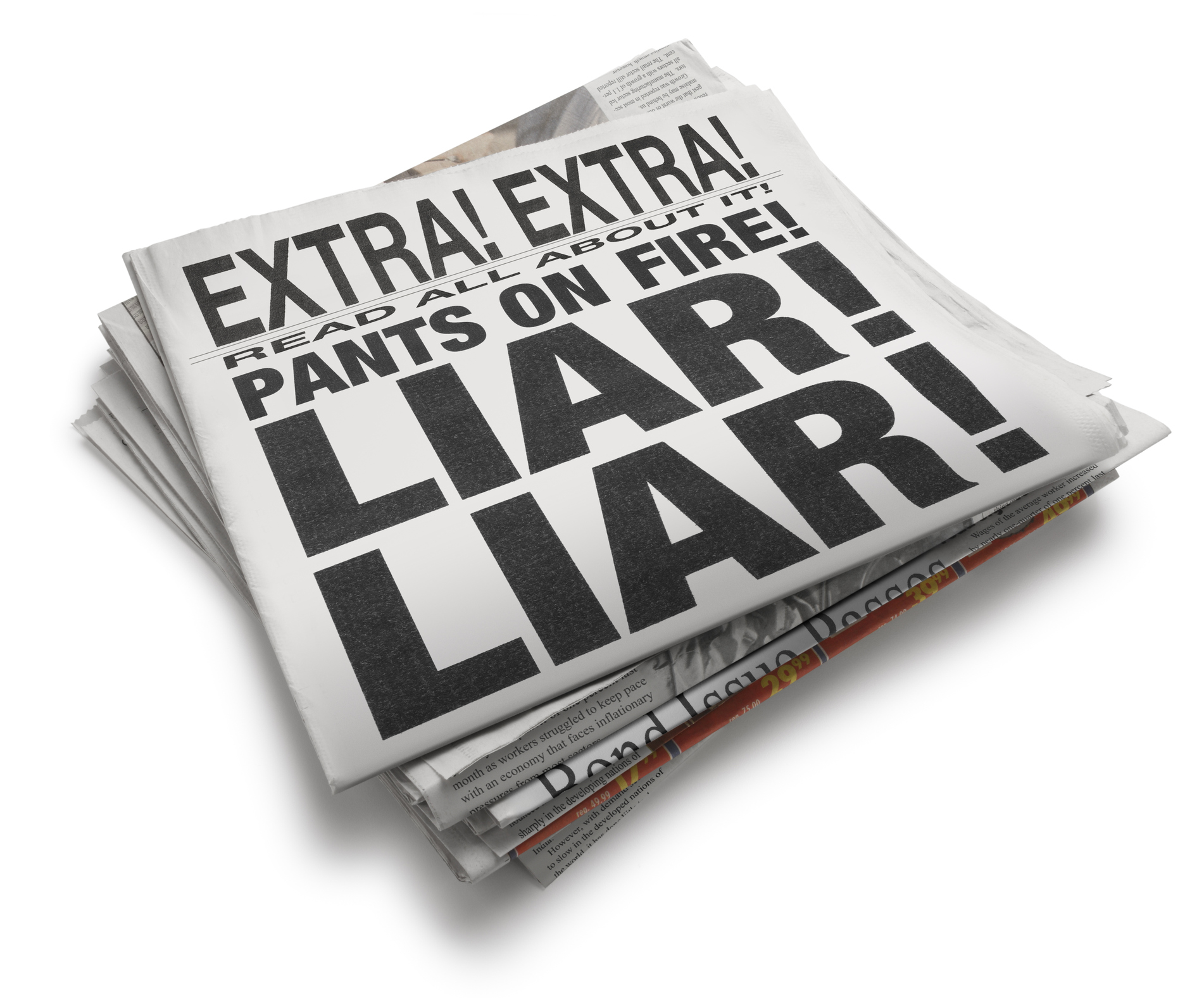 Newsflash, everyone lies! (at least a little, often to themselves)