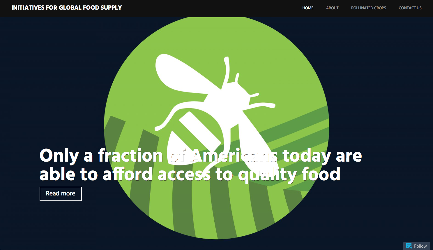 initiatives for global food supply website