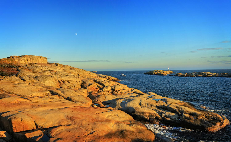 Det store svabergområdet ved Folehavna, ytterst i Sandefjordsfjorden.