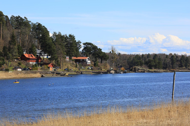 Vestsiden av Løvøya
