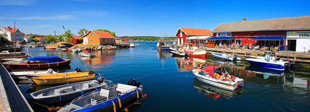 Norsk sommer på sitt beste i Nevlunghavn