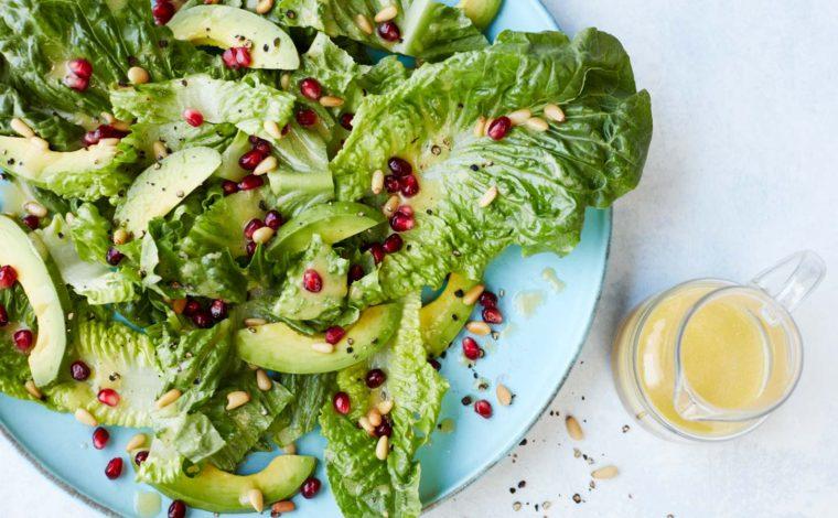 Simple romaine salad recipe
