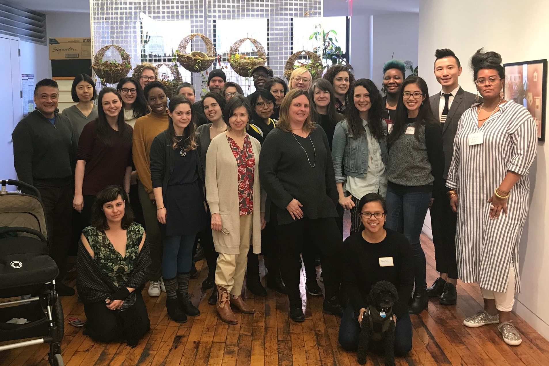 2019 Emerging Arts Leaders Cohort (Ariel standing far left)