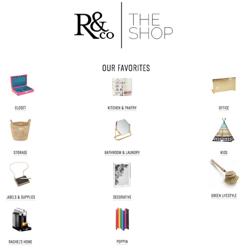 Rachel and Company - The Shop - www.rachel-company.com