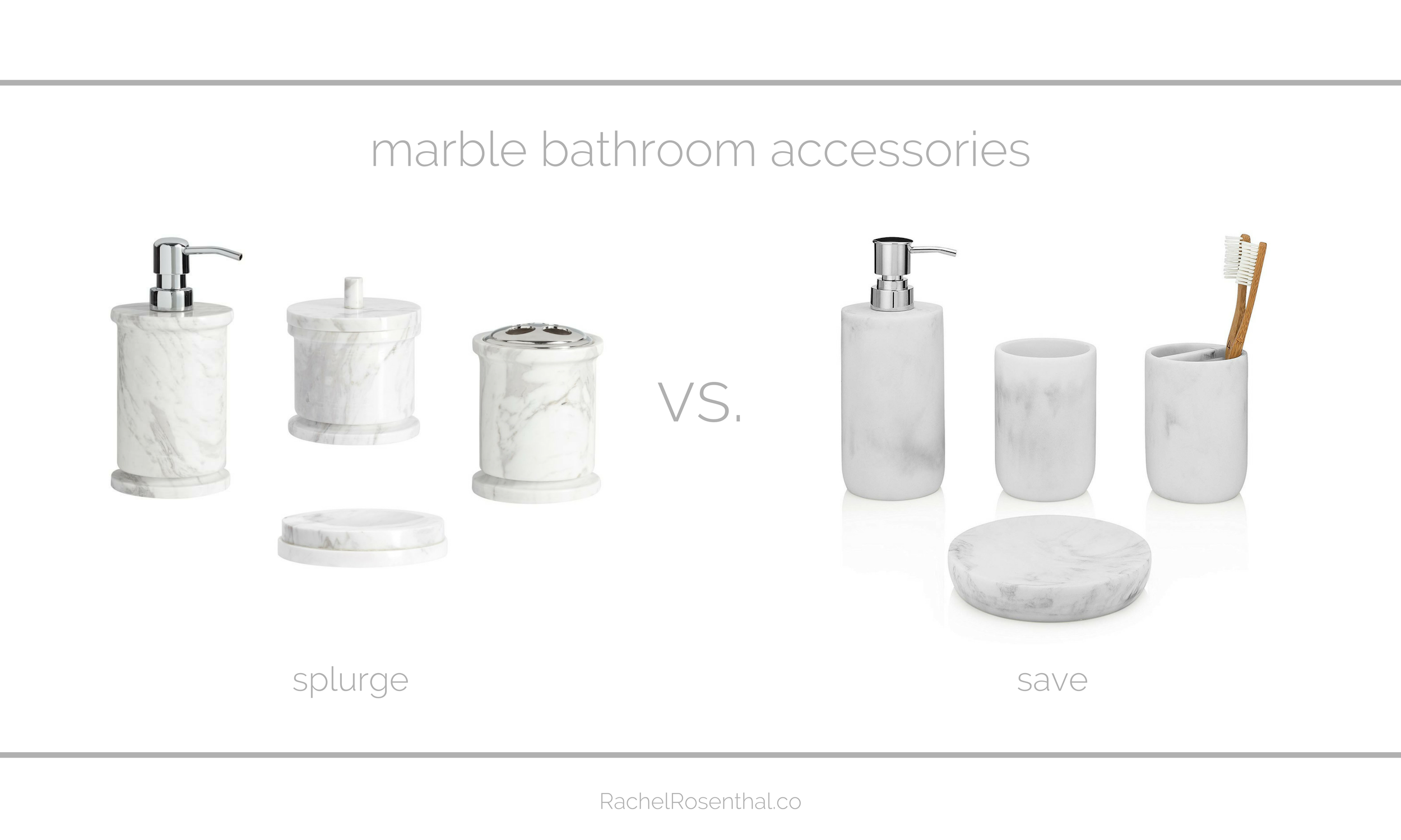 Rachel Rosenthal - Looks for Less - Bathroom - www.rachelrosenthal.co