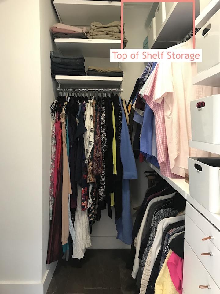 Rachel Rosenthal - Closet Organization - www.RachelRosenthal.co