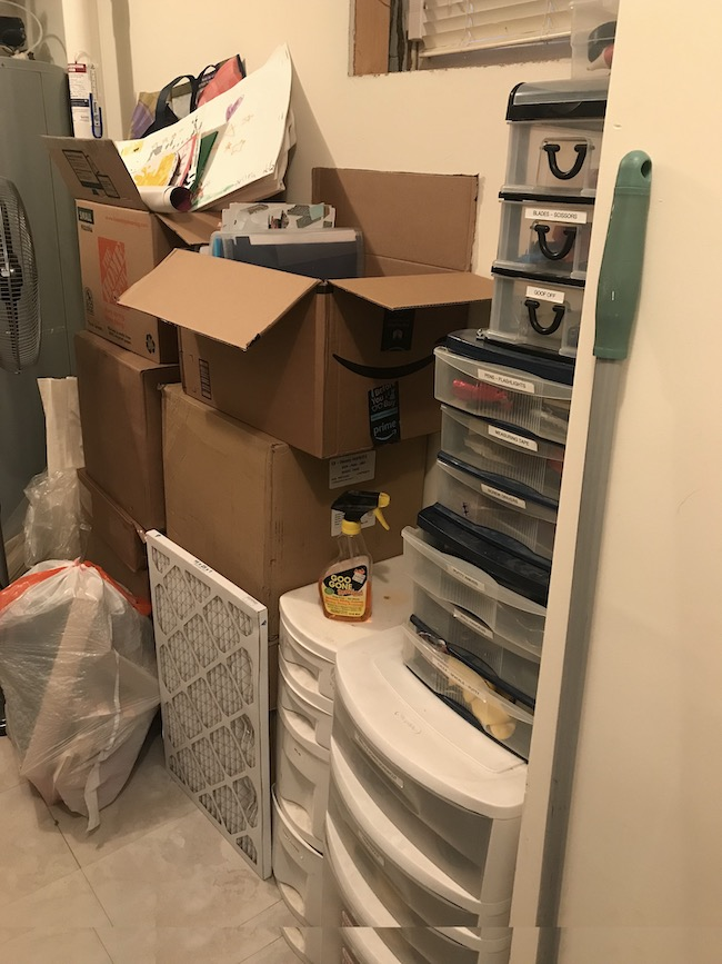 Rachel Rosenthal -Storage Room Before - rachelrosenthal.co.JPG