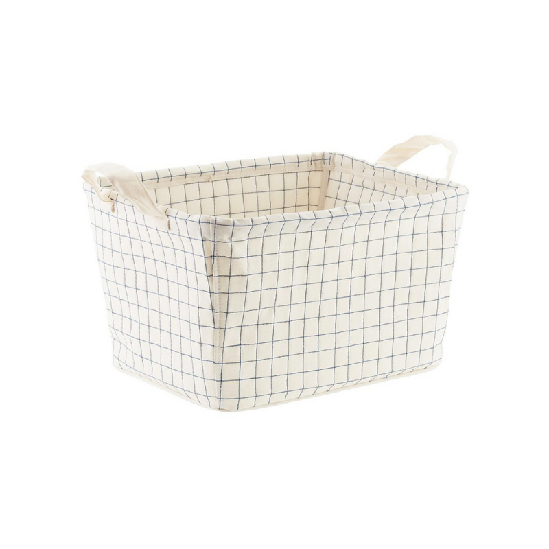 Rachel Rosenthal - Canvas Quilted Bin - The Contaner Store - rachelrosenthal.co.png