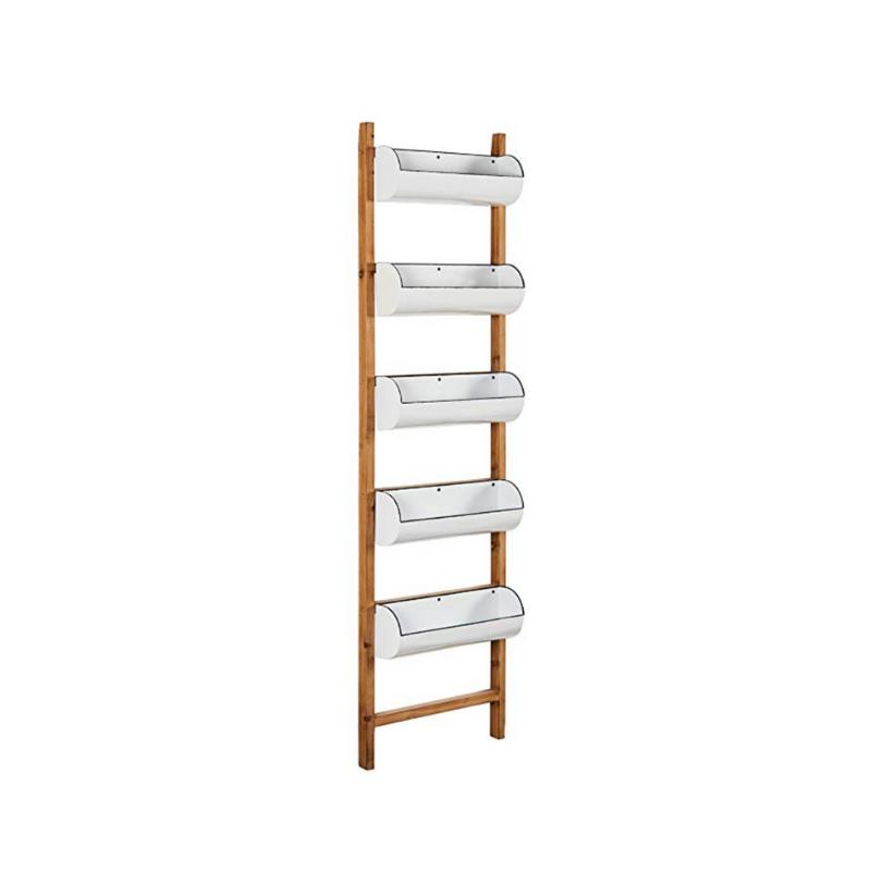 Rustic Ladder Display Rack