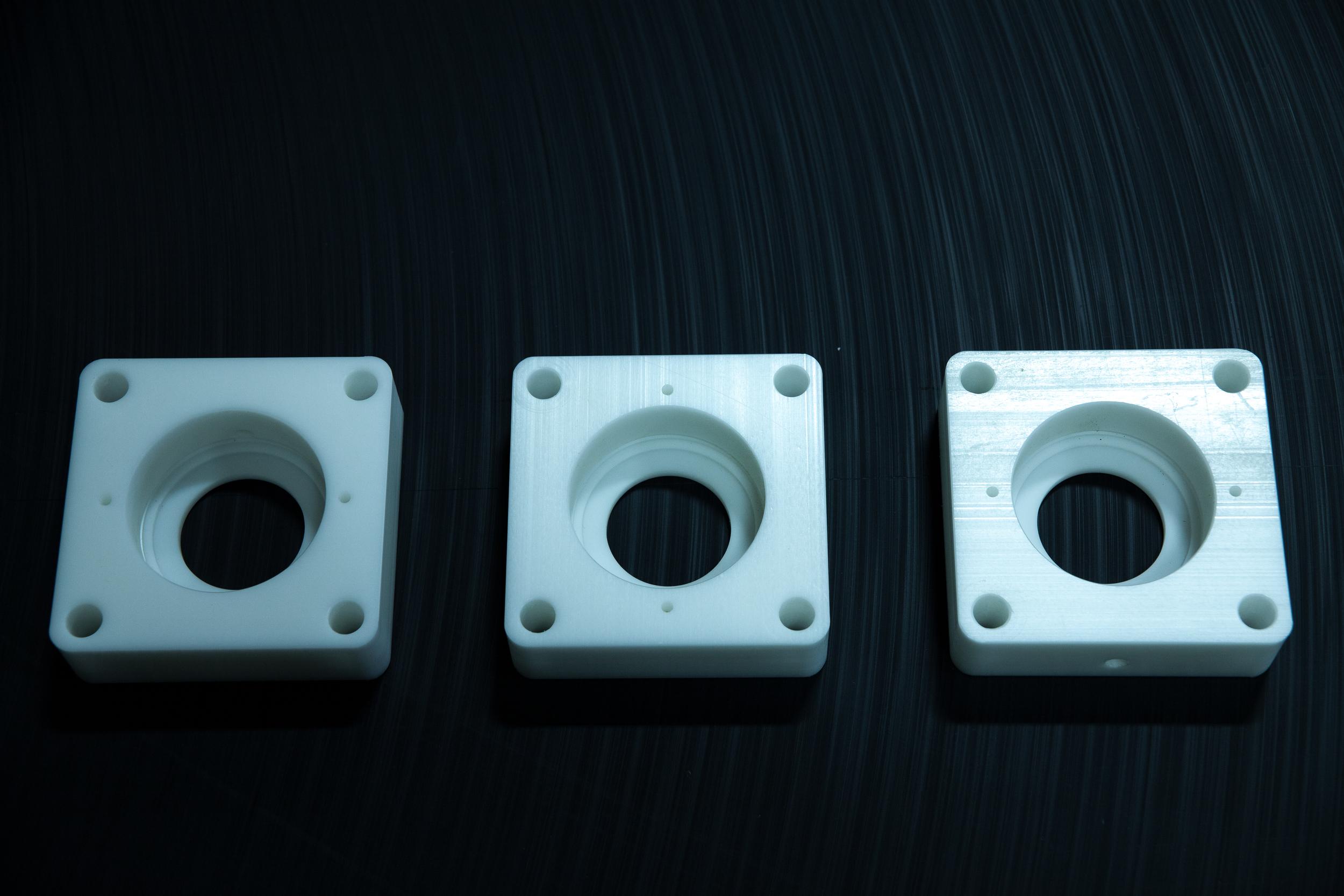 Natural UHMW-PE Bearing Blocks