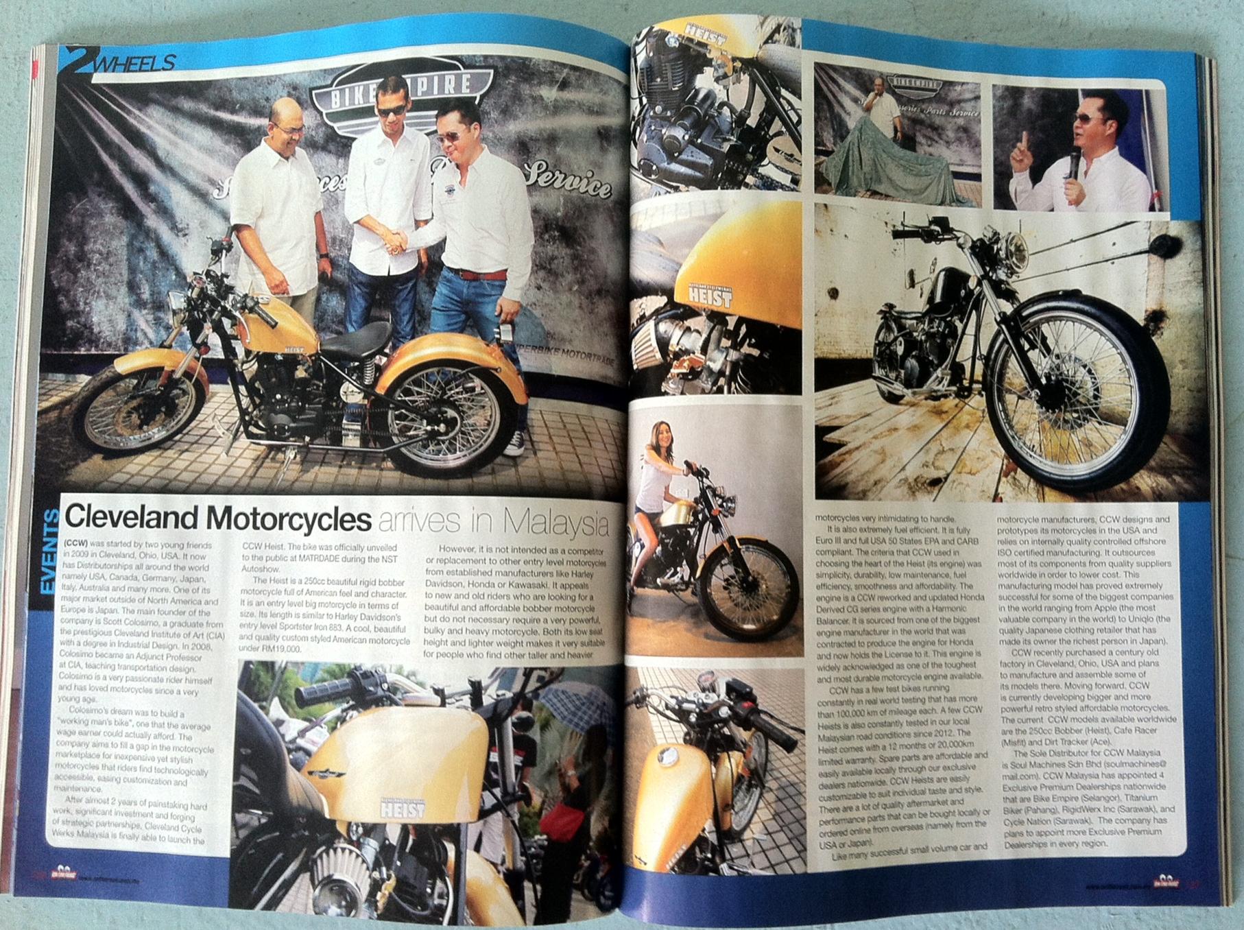 Cleveland CycleWerks Malaysia 02.JPG