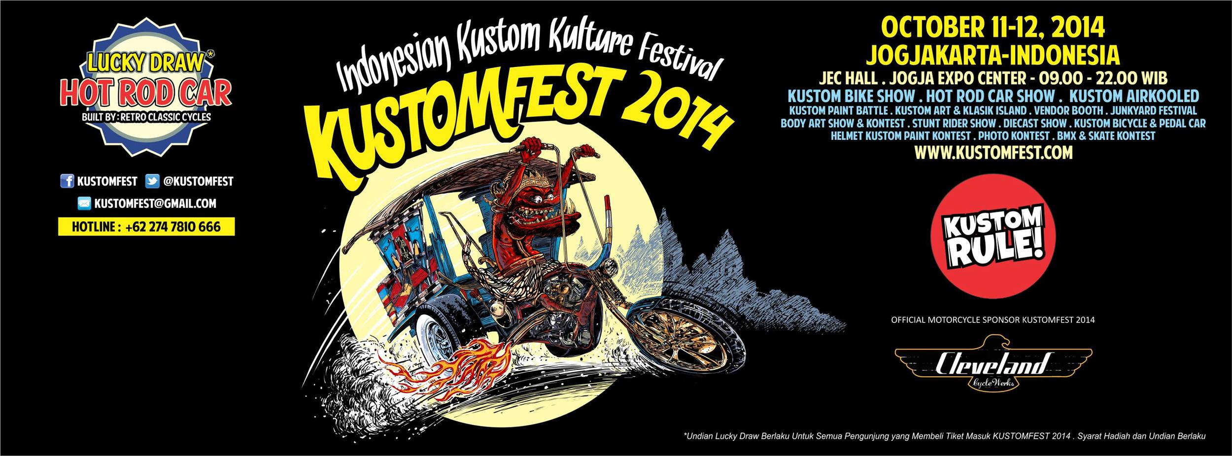 Cole Foster +  Cleveland CycleWerks + Kustomfest