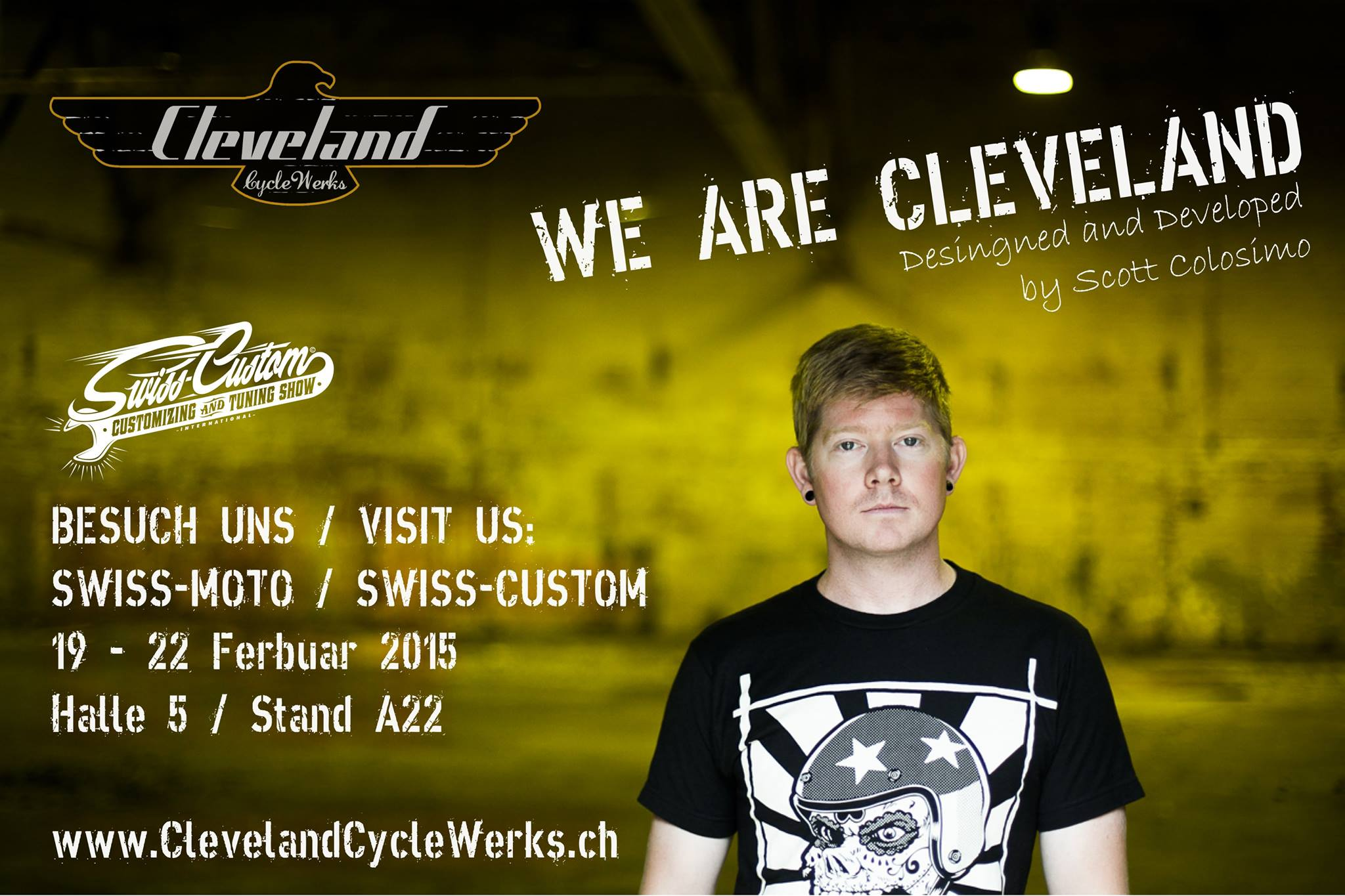 Cleveland CycleWerks Swiss Moto Show