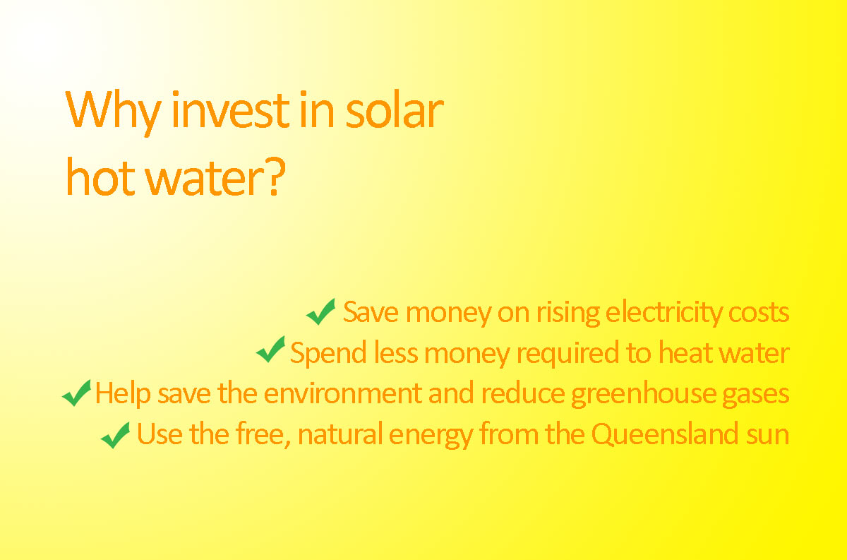 Thinking of investing in solar hot water in Brisbane, Townsville or Queensland? Here's why you should.