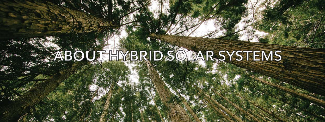 more information about hybrid solar systems