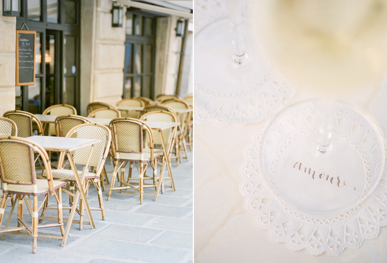 Paris wedding calligraphy by A Creative Affair_Photo by Clara Tuma