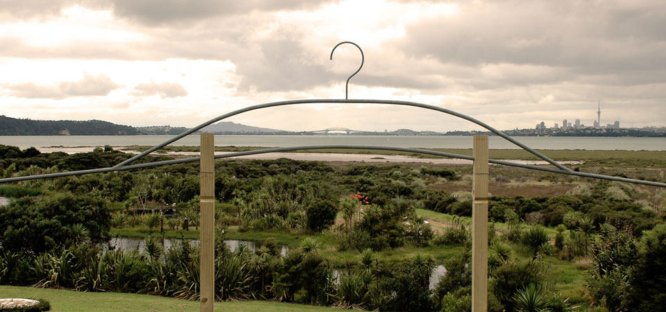 Coat Hanger - Richard Sparke  - From the 2012 Harbourview Sculpture Trail