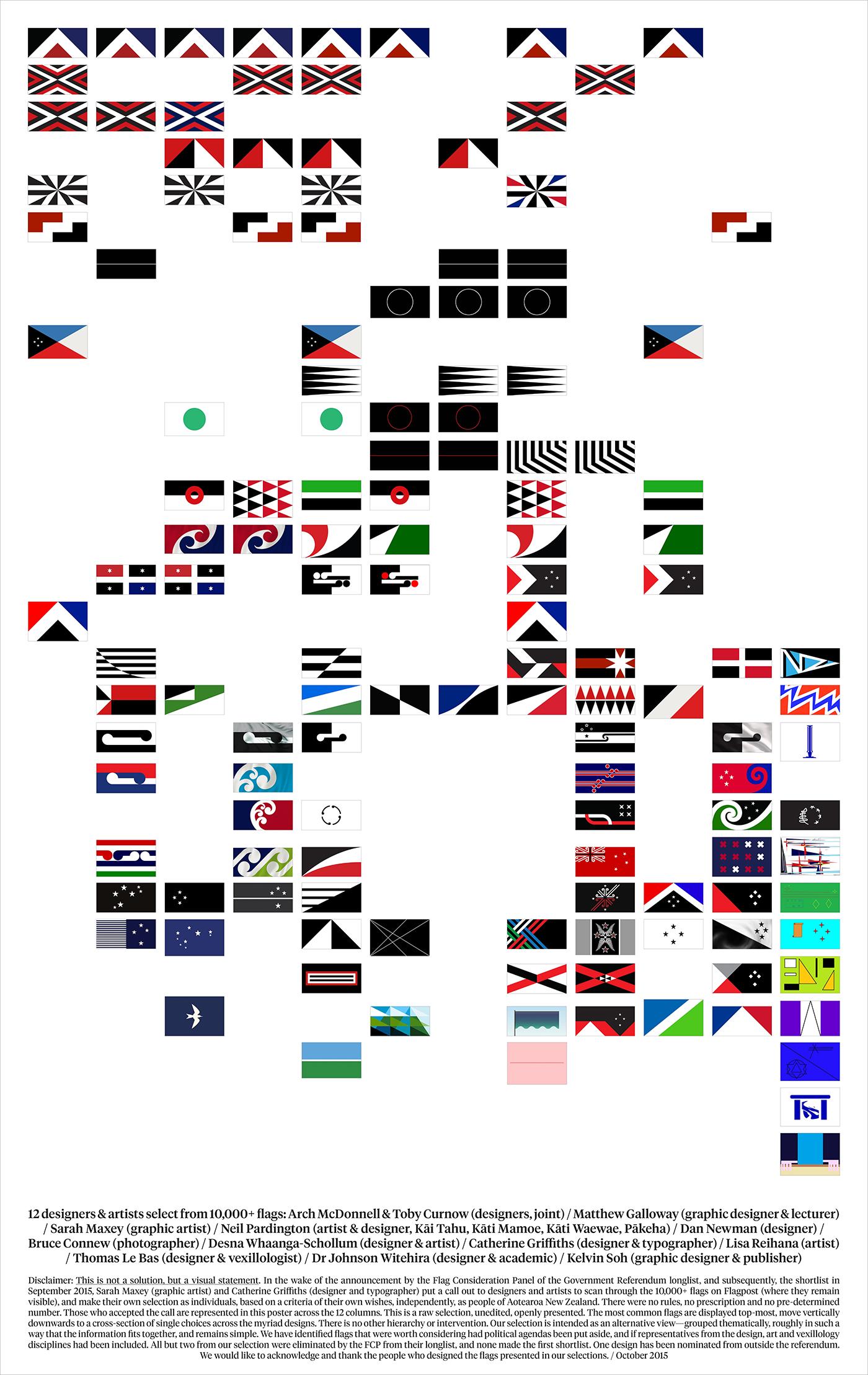 NZ Design - 98 Flags — Threaded Magazine