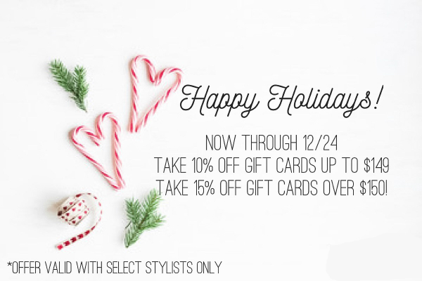 Gift Card Promotion for 2016