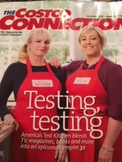 Stars of America's Test Kitchen, Costco Connection