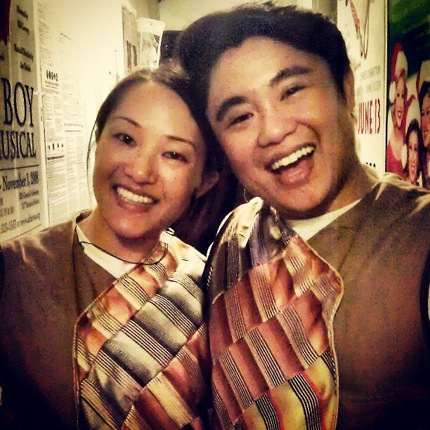 Feng (Isabel To) and Long (Christopher Juan) - you will be missed. But don't worry! Isabel and Chris are now playing other roles in the new production!