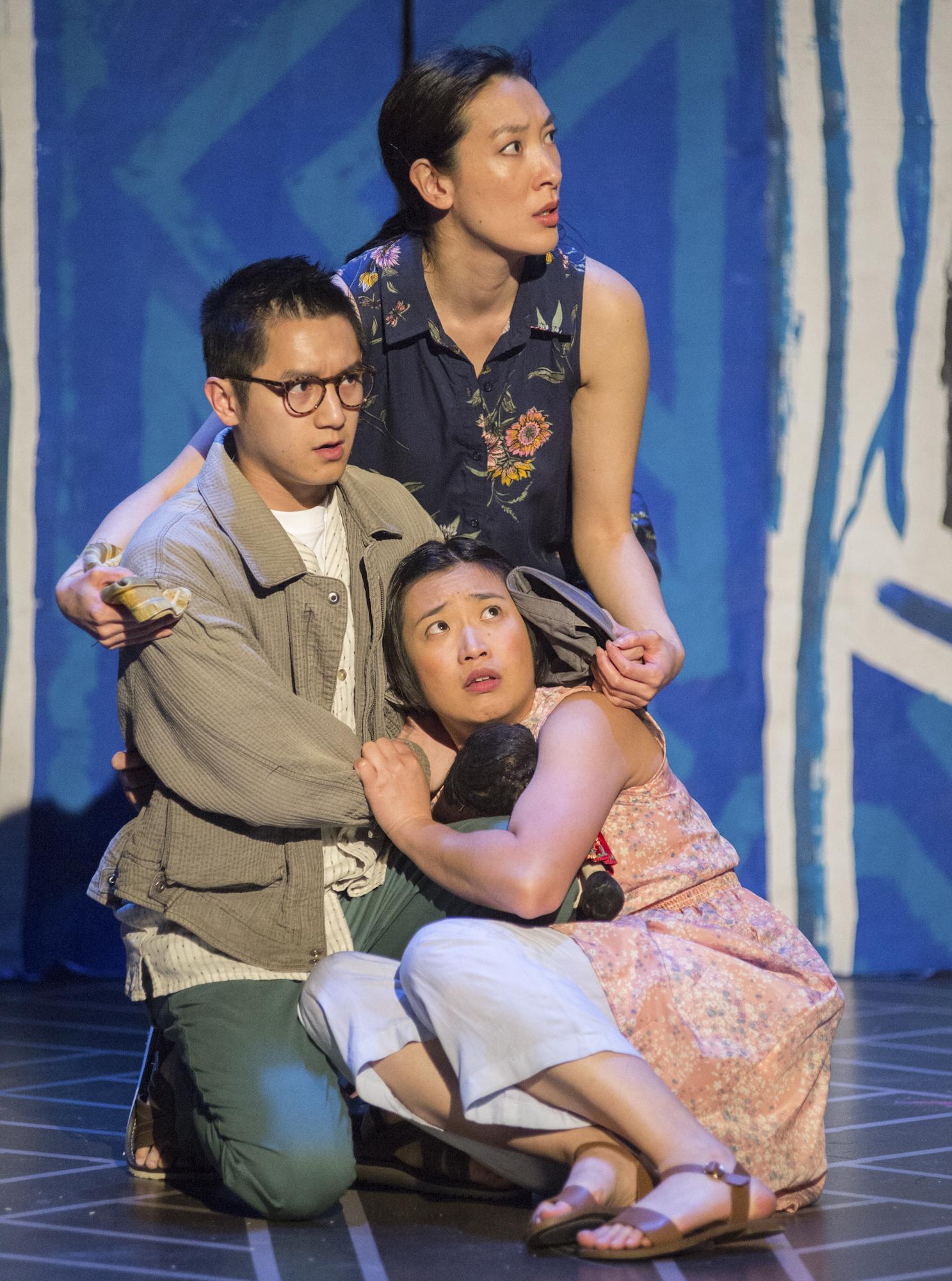 Top to Bottom: Kathryn Han, Benjamin Nguyen, Krystle Piamonte