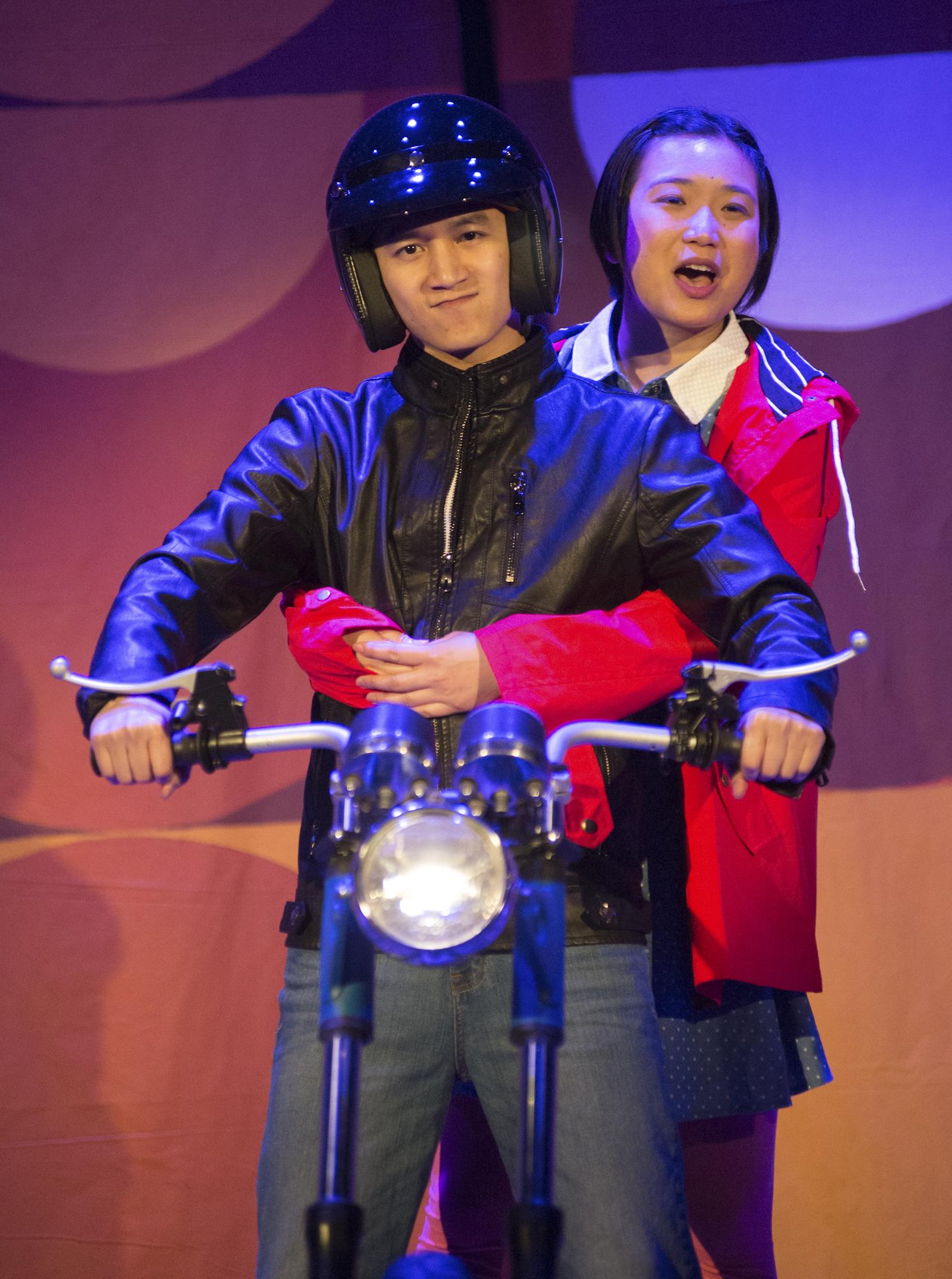 L to R: Benjamin Nguyen, Krystle Piamonte