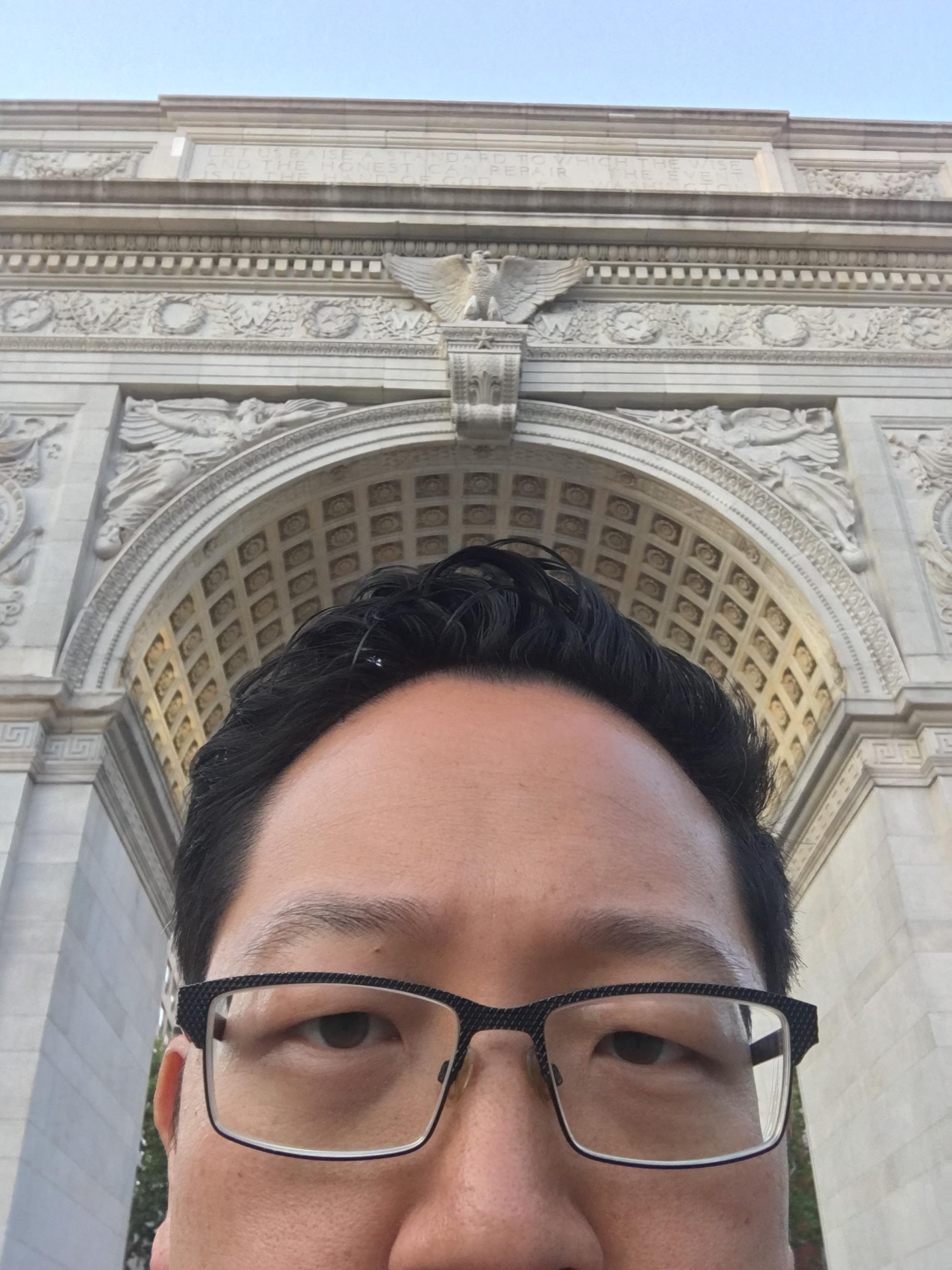 Strolling thru Washington Square Park