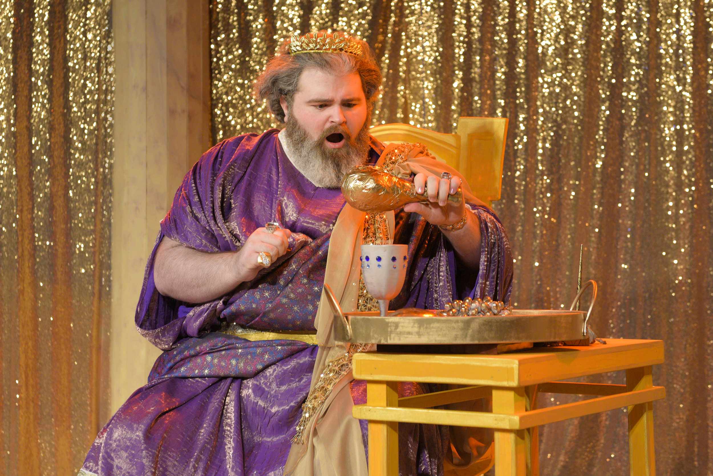 Matt Standley as King Midas